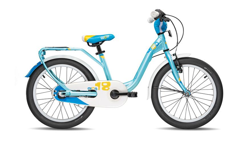 s'cool niXe 18-3 Lapset lasten polkupyörä , sininen